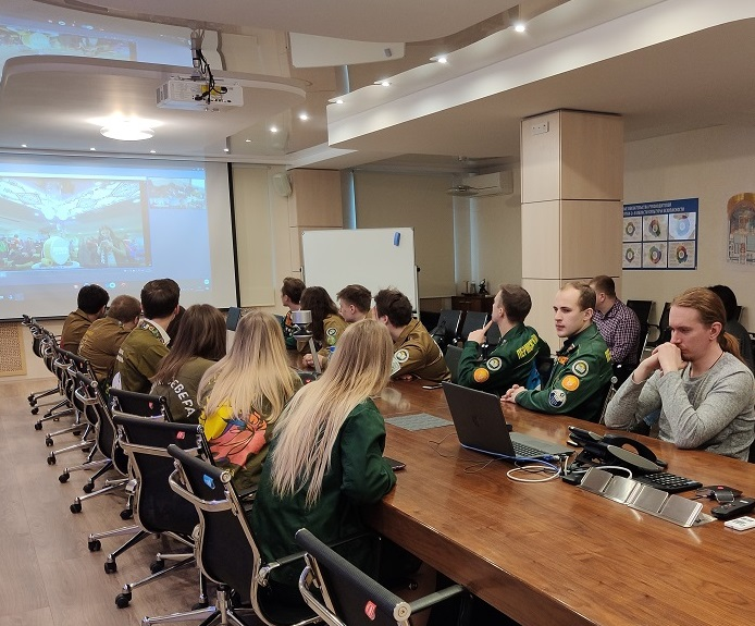 GRIGORY NAGINSKIY, CEO OF JSC CONCERN TITAN-2, TAKES PART IN THE VIDEO CONFERENCE DEDICATED TO THE DAY OF RUSSIAN STUDENT BRIGADES