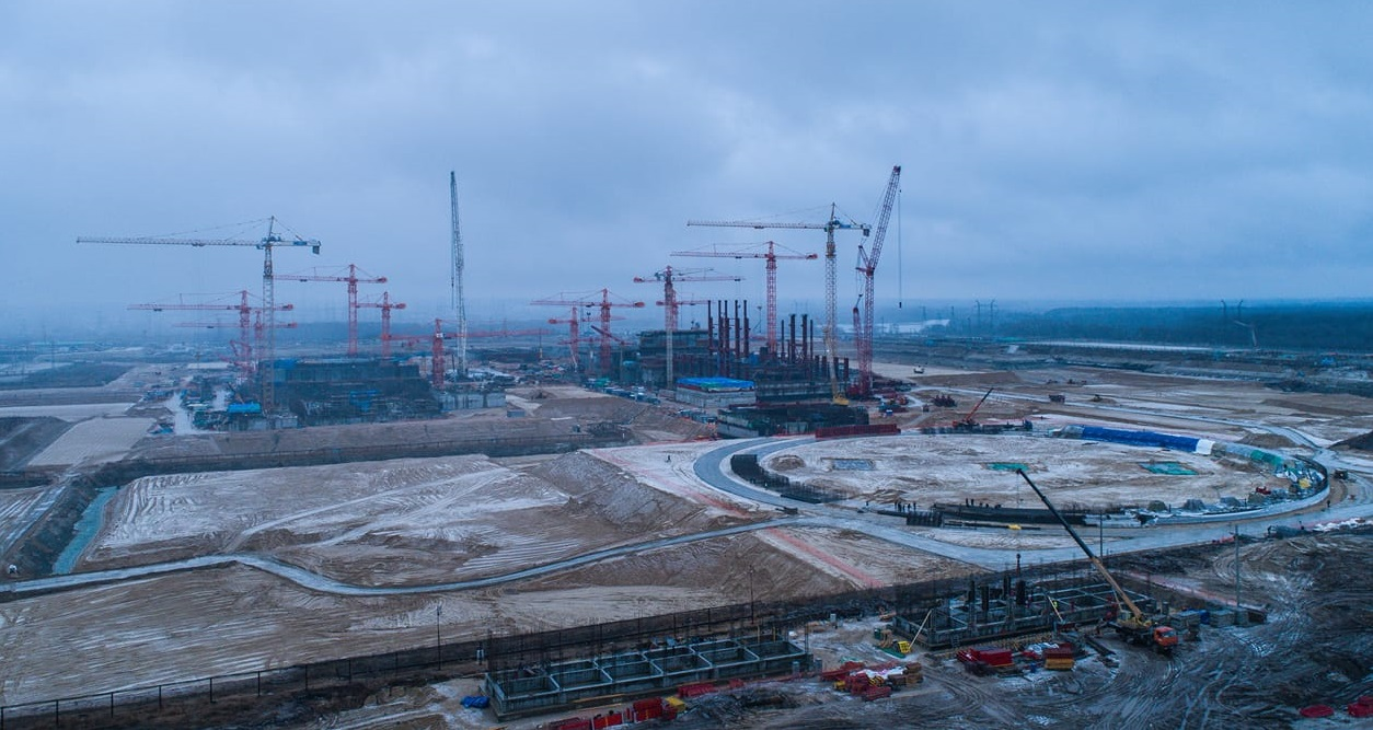 JSC CONCERN TITAN-2 WILL BUILD AN EVAPORATIVE COOLING TOWER OF THE KURSK NPP-2 SECOND POWER UNIT