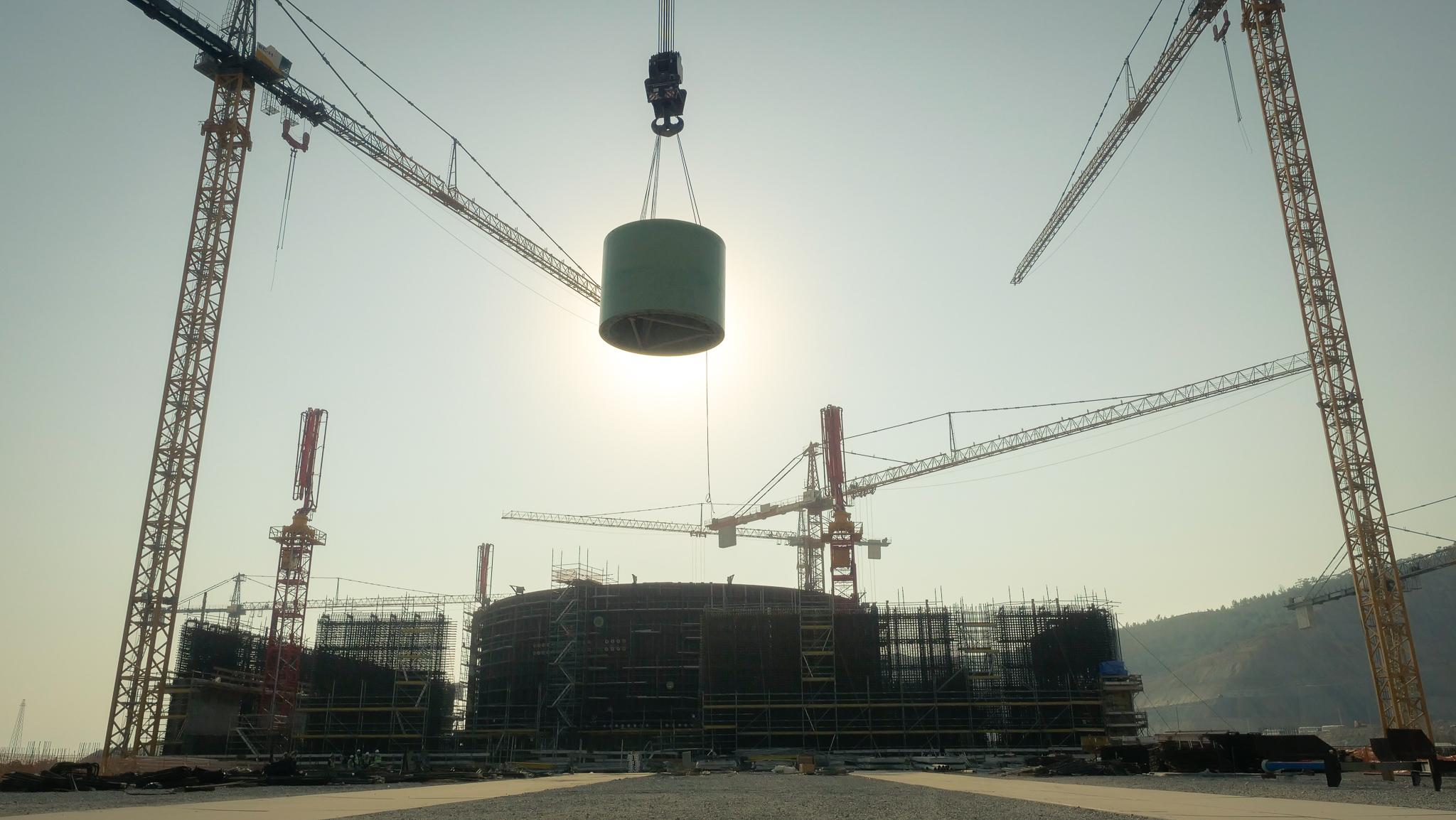 На строительной площадке АЭС «Аккую» в Турции состоялся еще один крупный монтаж