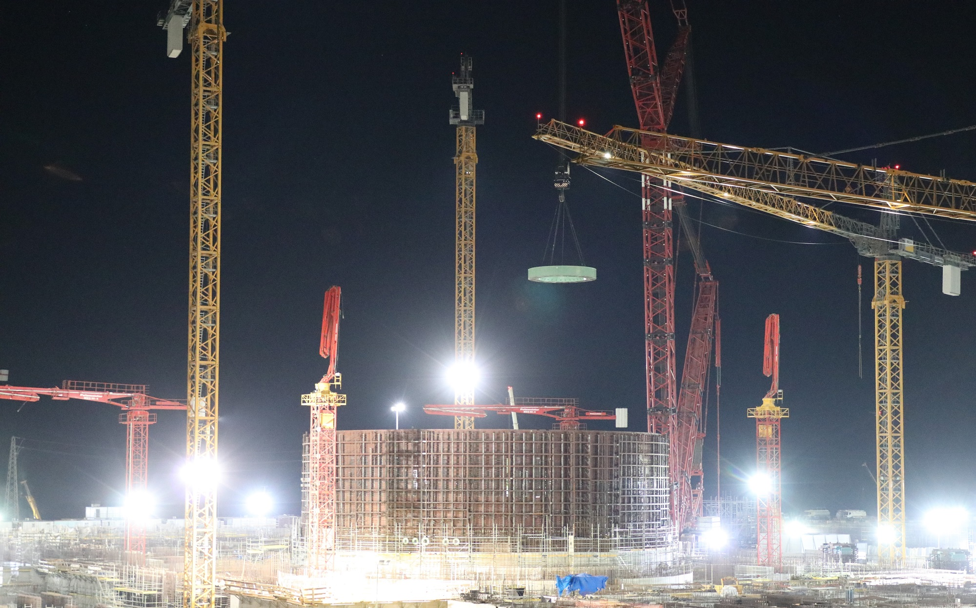 The reactor cavity in power unit 2 of the Akkuyu NPP under construction in Turkey has been equipped with the main structural components