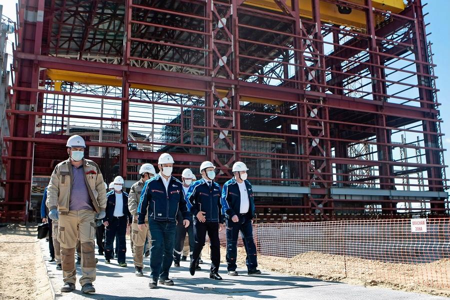 Строительную площадку Курской АЭС-2 посетил глава Росатома Алексей Лихачев