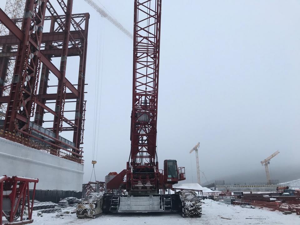 Специалисты АО «КОНЦЕРН ТИТАН-2» начали армирование верхней фундаментной плиты турбоагрегата здания турбины первого энергоблока КуАЭС-2