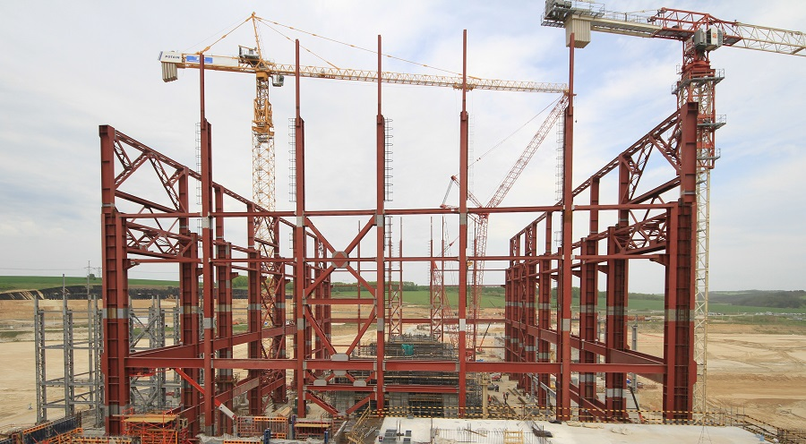 TWO MILESTONE EVENTS AT THE KURSK NPP-2 CONSTRUCTION SITE
