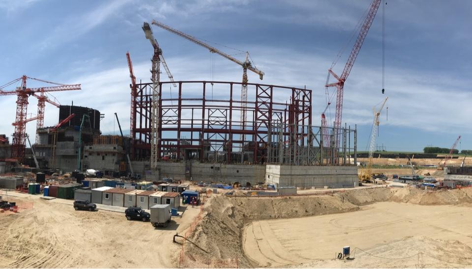 Очередной важный этап работ выполнен на строительной площадке Курской АЭС-2