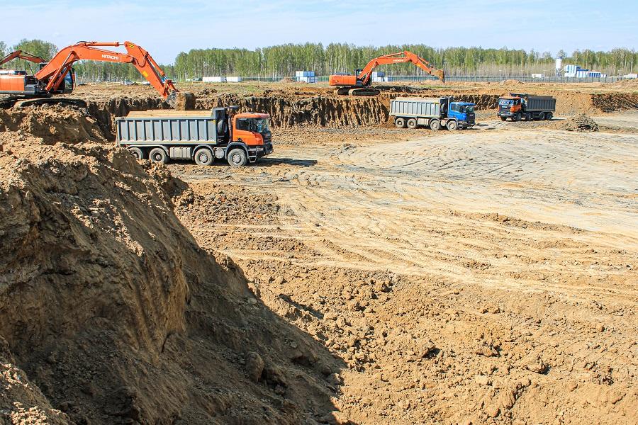 Специалисты АО «КОНЦЕРН ТИТАН-2» трудятся на строительной площадке опытно-демонстрационного энергетического комплекса Сибирского химического комбината в г. Северске Томской области