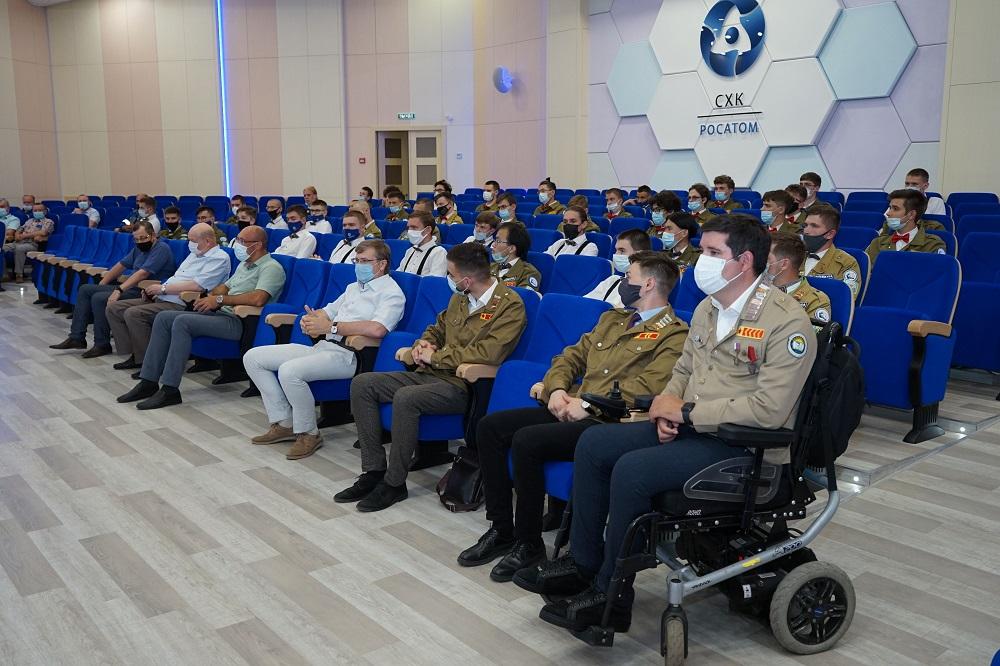 В Северске началась Всероссийская студенческая стройка «Мирный атом – Прорыв»