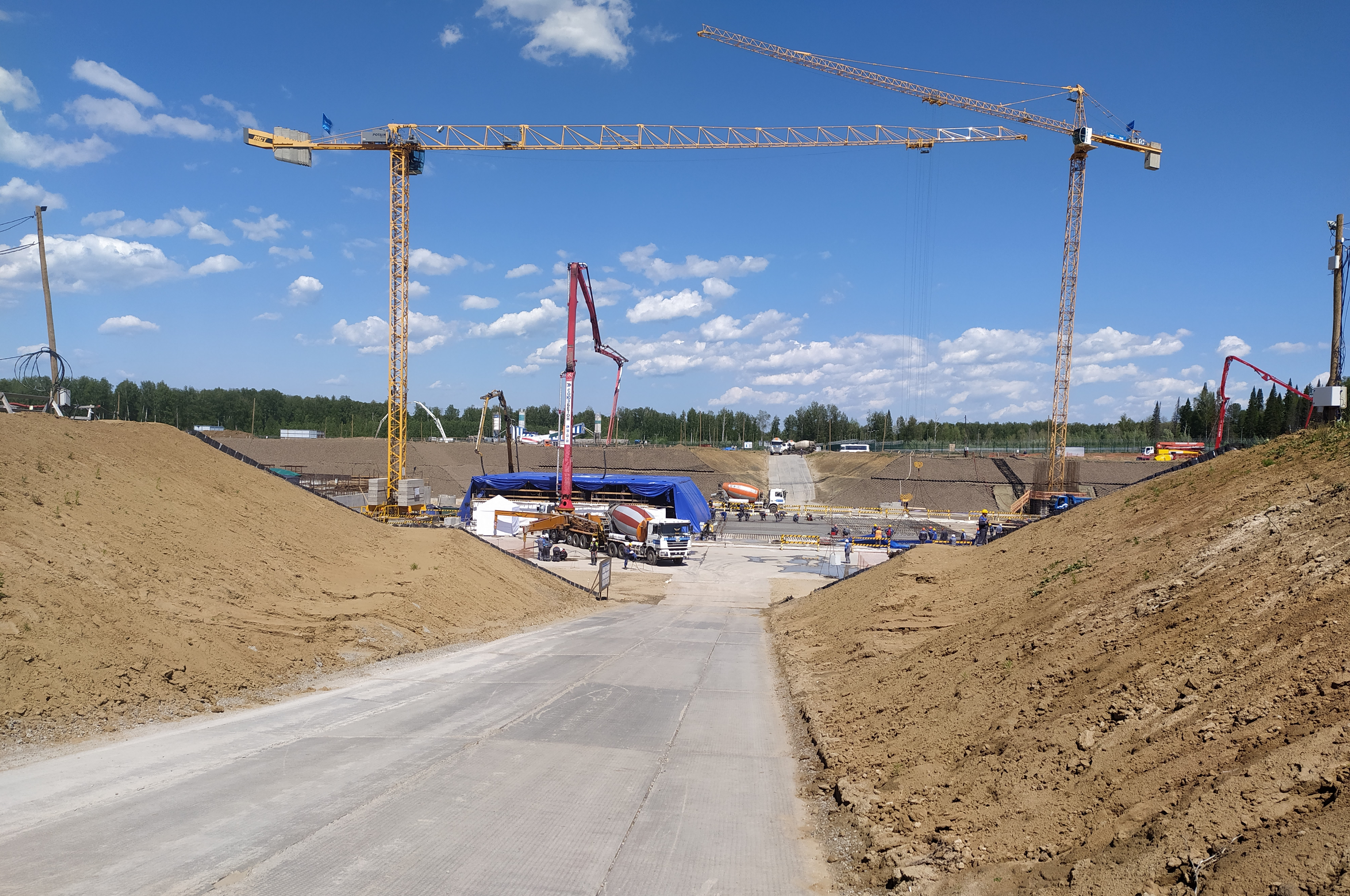 """Construction of BREST-300 Power Unit for Pilot Demonstration Complex Project Proryv (the """"Breakthrough"""") Officially Started in Seversk"""