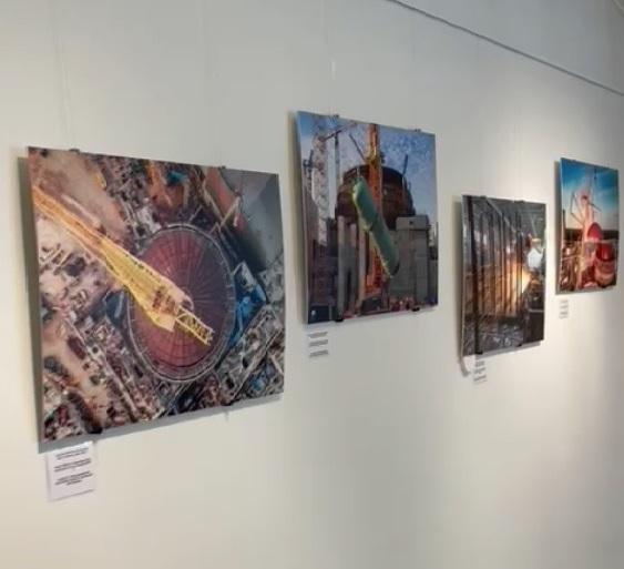 В финском городе Пюхяйоки открылась фотовыставка о ходе строительства Ленинградской АЭС-2