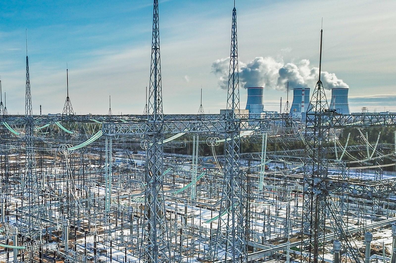 Шестой энергоблок Ленинградской АЭС введен в промышленную эксплуатацию